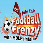 "MOL : ""FOOTBALL Frenzy 2012 !!"""
