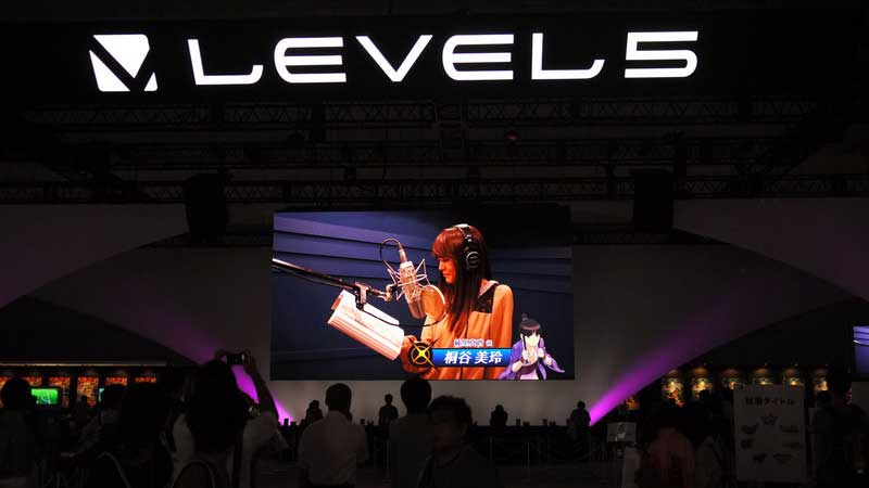 Booth Tour TGS 2012: Level-5 Booth