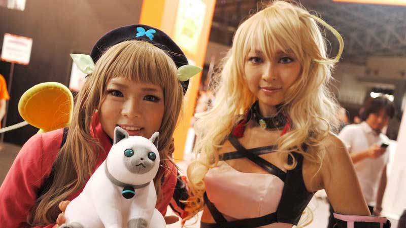 Booth Tour TGS 2012: Booth Babes