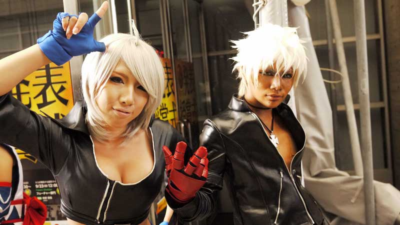 Booth Tour TGS 2012: Cosplay Gallery