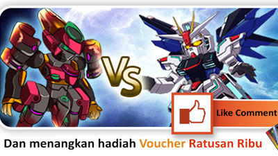 Ikuti Event LIke and Share Super Robot Wars Online!