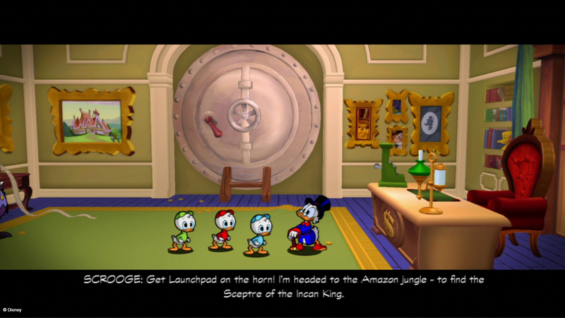 Screenshot dan Trailer E3 2013 DuckTales Remastered