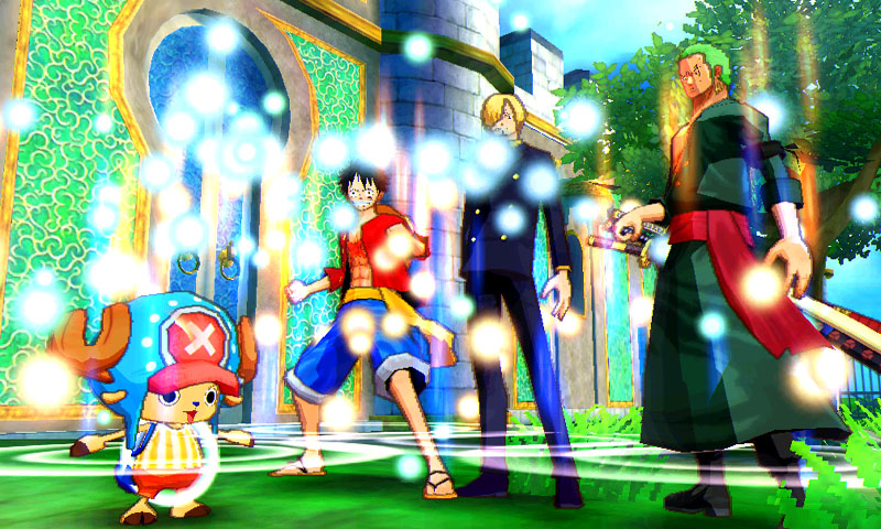 One Piece Unlimited World: Red Hadirkan Tiga Karakter Baru