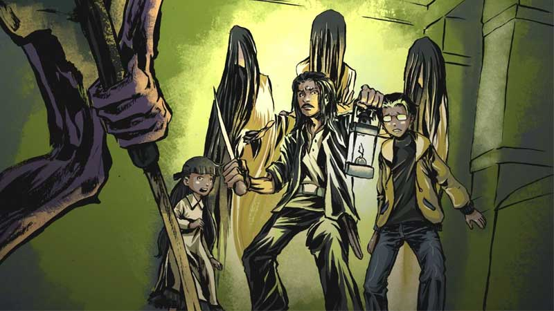 Digital Happiness and CAB Unleashed DreadOut Comics!