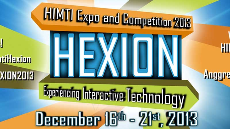 Binus University Siap Gelar HIMTI Expo and Competition (HEXION) 2013!