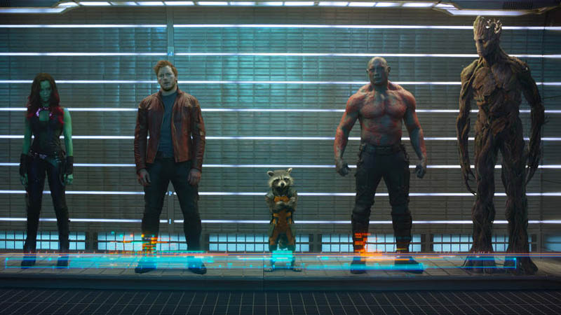 Konsep Animasi Rocket Raccoon dan Groot Bocor