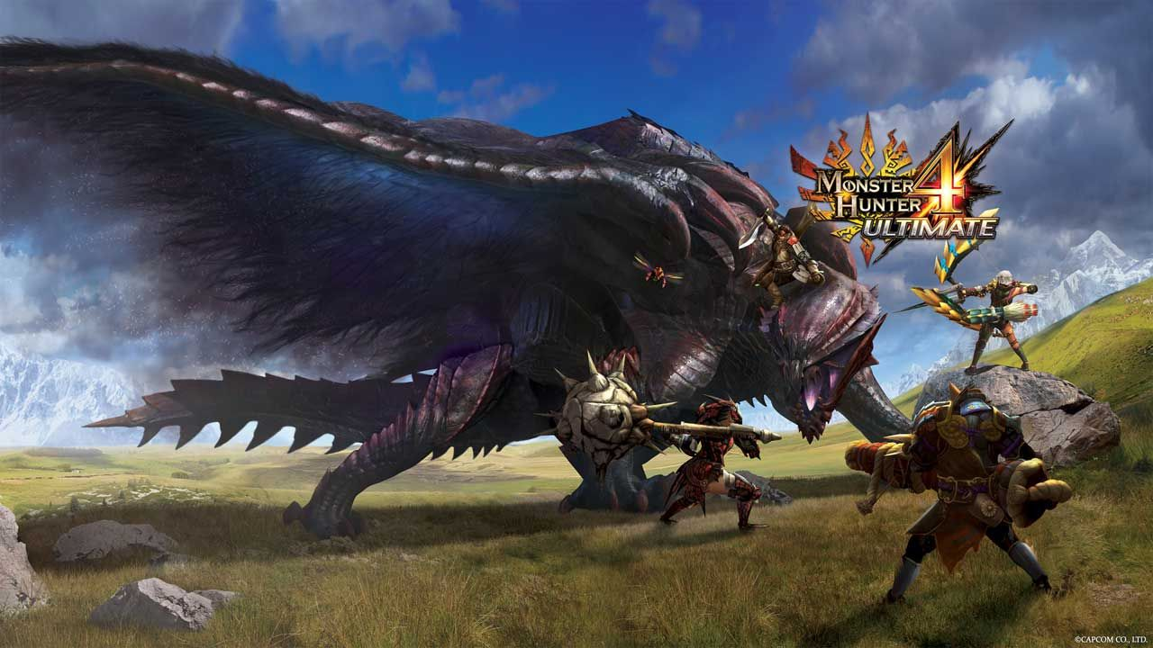 #TGS2014 Landak Biru Sonic Muncul Dalam Monster Hunter 4 Ultimate