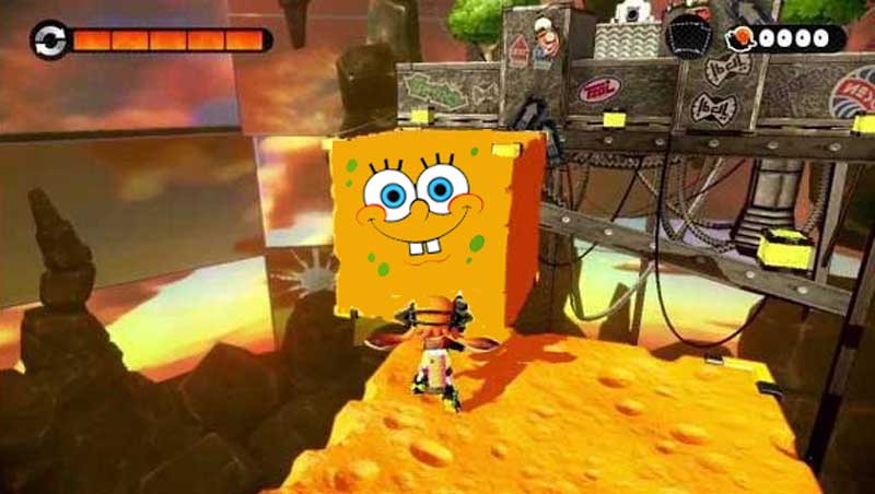 """SpongeBob"" Ikut Nimbrung Dalam Splatoon, Game Competitive Shooter-nya Nintendo"
