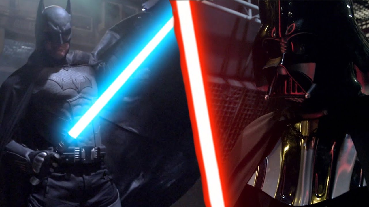 Batman Vs Darth Vader – Saat Dua Ikon Beradu Lightsaber!