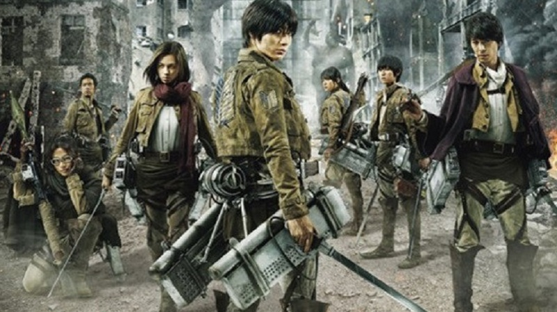 Live-Action Attack on Titan Akan Tayang di Indonesia!