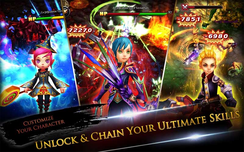 Eden Avalon Legends, Game Online Android dan iPhone di Era Knights of the Round
