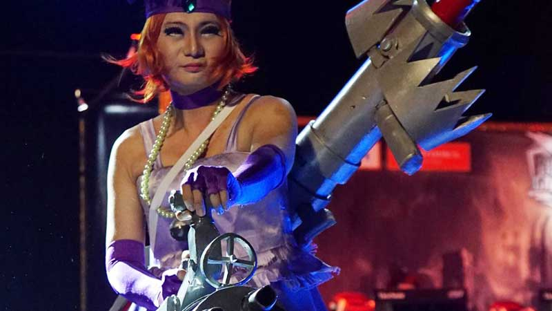 Kompetisi Cosplay Warnai Panggung The Finals 2016