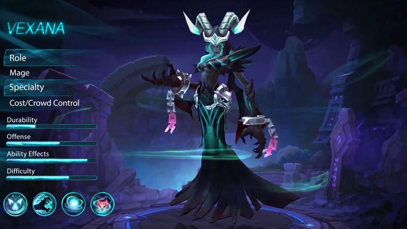 Vexana Sang Necromancer Hadir Menyerbu Land of Dawn di Update Mobile Legends Terbaru
