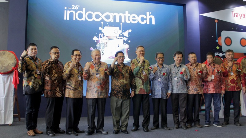 """Indocomtech 2018 Usung Tema """"Technology for Everyone"""""""
