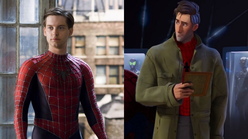 Benarkah Peter Parker Into the Spider-Verse itu Spider-Man Tobey Maguire?!