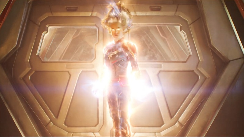 trailer 2 captain marvel - cosmic power