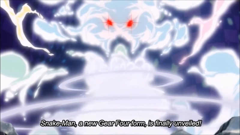 Preview One Piece Episode 870: Kebangkitan Snake Man Luffy!