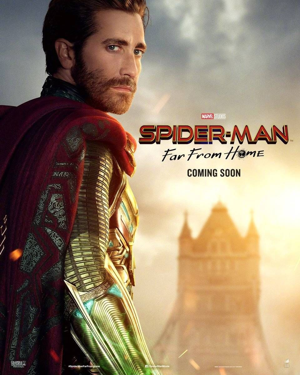 Fokus ke Jagoan?! 6 Poster Karakter Spider-Man: Far From Home Dirilis!