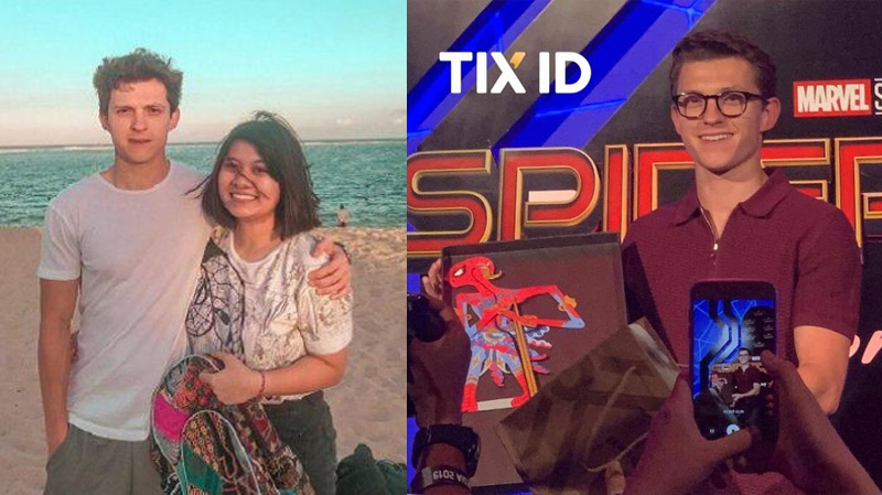 Tom Holland Main ke Bali dan Dihadiahi Wayang Spider-Man oleh Is Yuniarto!
