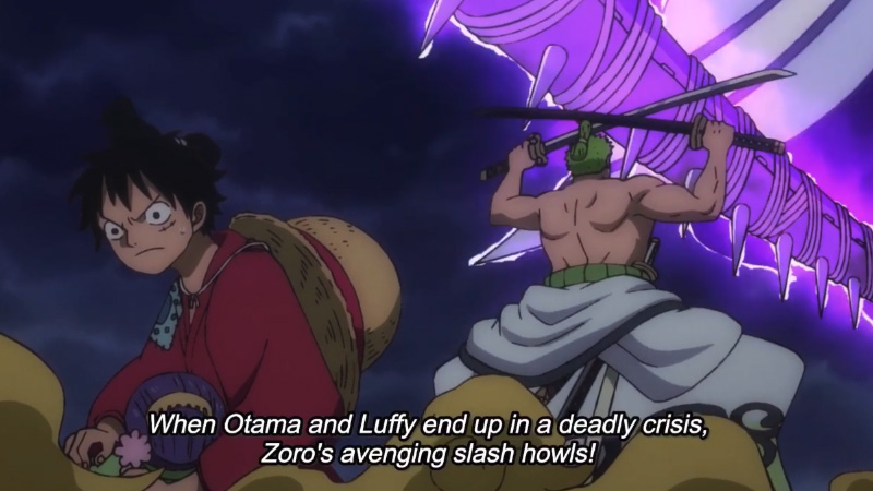 Preview One Piece Episode 899: Serangan Balik Zoro ke Hawkins!